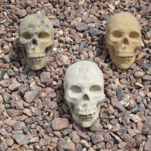 Garden Gnome Skull Assorted (7.5″x4.5″x5.5″)