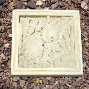 Fish Plaque Palm Beach (11.75″x11.75″1.5″)