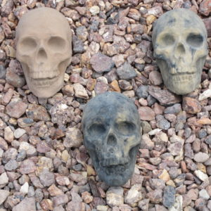 Garden Gnome Skull Assorted Short (5.5″x4.5″x5.5″)